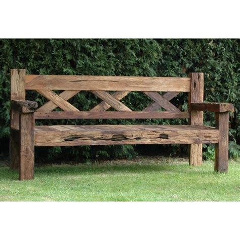 wooden bench outdoor furniture 25 best ideas about wooden garden benches on pinterest