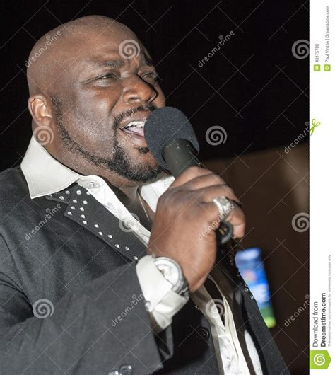 who is black singer in manning cm black african male singing live stock photo image 43175788