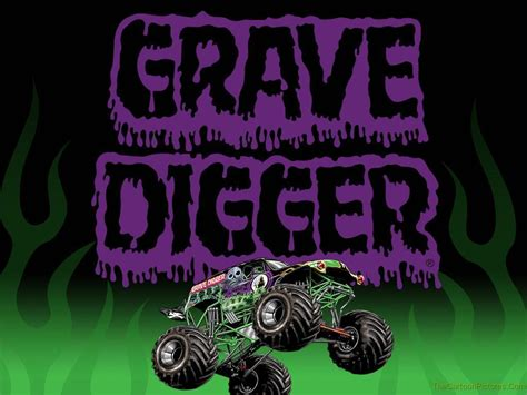 grave digger truck images grave digger wallpapers wallpaper cave
