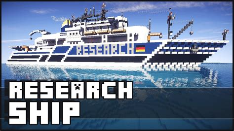 ship youtube minecraft research ship youtube