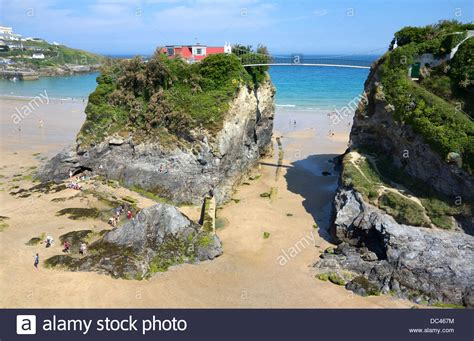 the island and house on towan in newquay cornwall