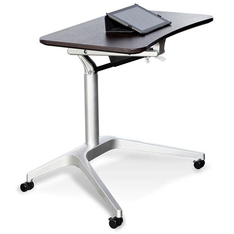 Laptop Adjustable Desk Workpad Modern Espresso Adjustable Laptop Desk Eurway