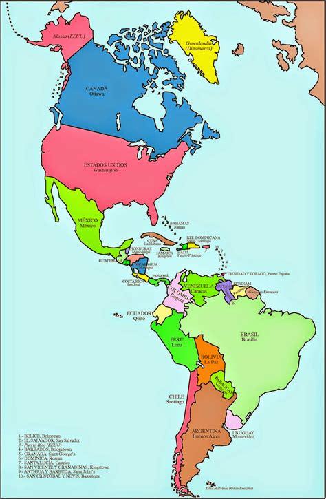fotos de el america ceon actividad para construir el mapa pol 237 tico de am 233 rica colonial