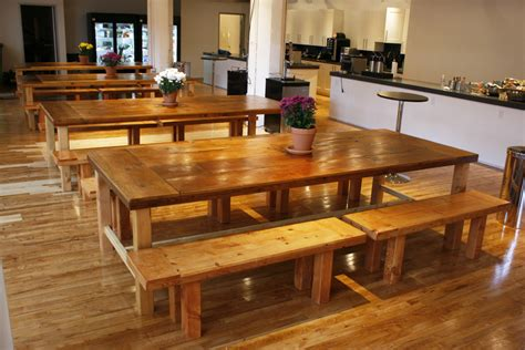reclaimed wood table and bench beautiful reclaimed wood dining tables and benches bay