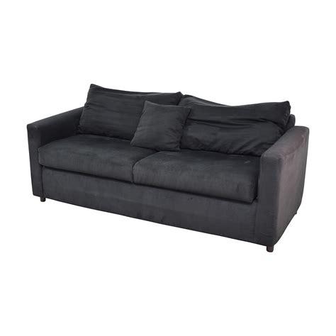 micro suede couch 78 off bob s furniture bob s furniture black micro