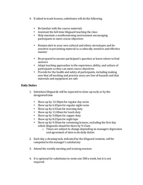 groundskeeper resume sle lifeguard resume sle 28 images lifeguard resume sle 28