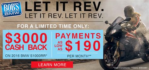 Bmw Motorrad Usa Promotions by Bmw Motorcycle Sales Promotions Bobs Bmw Specials