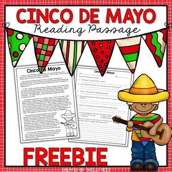 acrosticos cinco de mayo cinco de mayo reading passage free by shelly rees tpt