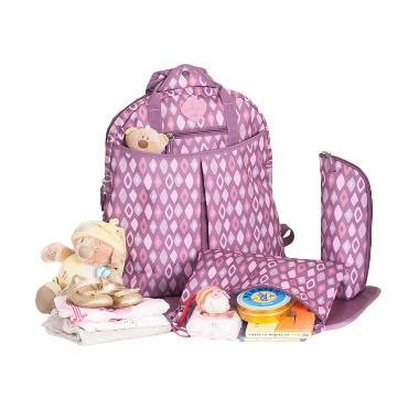 Okiedog 61020 Freckles Rombe Cooler Bag Purple Pink jual okiedog freckles backpack 61014 rombe bag purple pink harga kualitas