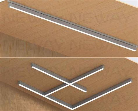 linear flush mount ceiling light 3 office ceiling mounted linear suspension led ceiling