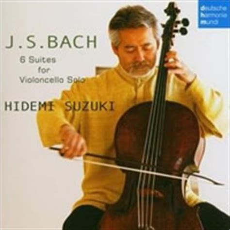 Hidemi Suzuki Sa Cd Net Bach Cello Suites Hidemi Suzuki