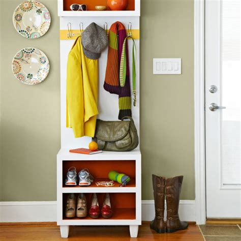 Coat And Shoe Rack With Bench by Narrow Coat Rack Bench With Shoe Storage Tradingbasis