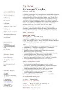 management cv template managers jobs director project management cv exle club leader sub site coordinator resume exle madison school district phoenix arizona