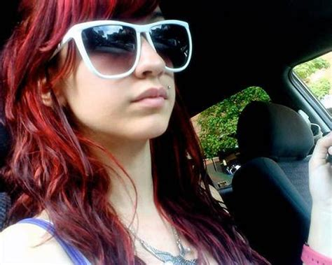 hairstyles for dying your hair red hair dye ideas styles inofashionstyle com