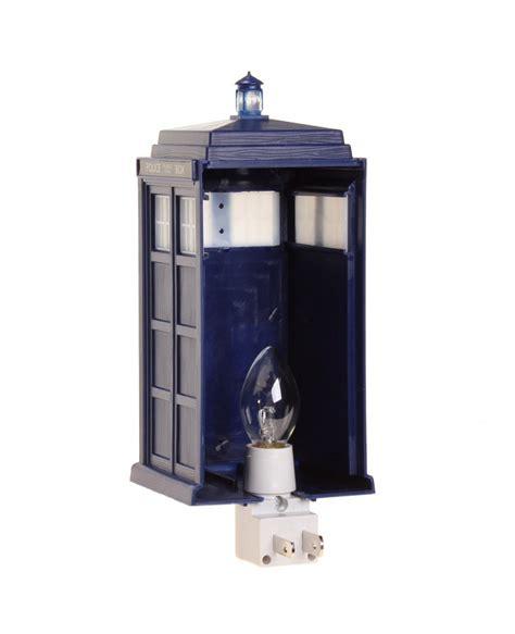 Doctor Who Tardis Night Light Doctor Who Lights