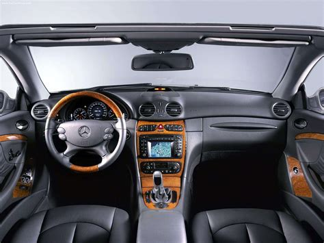 Mercedes Benz Clk Cabriolet Picture 06 Of 08 Interior