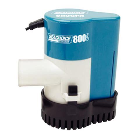 bilge boat pump seachoice gph automatic bilge pump 232245 livewells