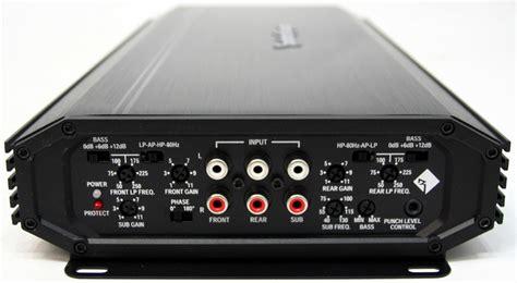 rockford fosgate    watt  channel amplifier car