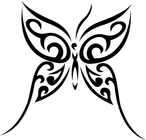 tribal butterfly images cliparts co