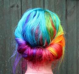 rainbow color hair ideas 23 ombre hair color ideas to inspire your next look