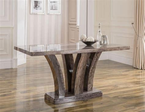 Monterosso Pearl Grey Marble Dining Table Frances Hunt Grey Marble Dining Table