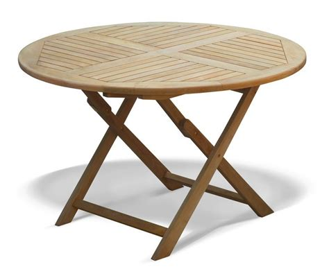 Folding Patio Table And Chairs - suffolk folding garden table and chairs set teak