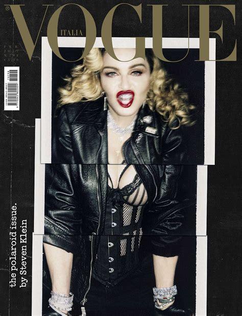 Fredrik Ljungberg Does Vogue Italia by Update Magazine Scans Added Madonna By Steven Klein For