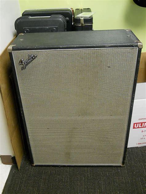 vintage fender 2x12 cabinet vintage 1968 fender bassman quot drip edge quot 2x12 speaker