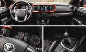 Toyota Tacoma Manual Vs Automatic 2016 Toyota Tacoma V 6 4x4 Manual Test Review Car And