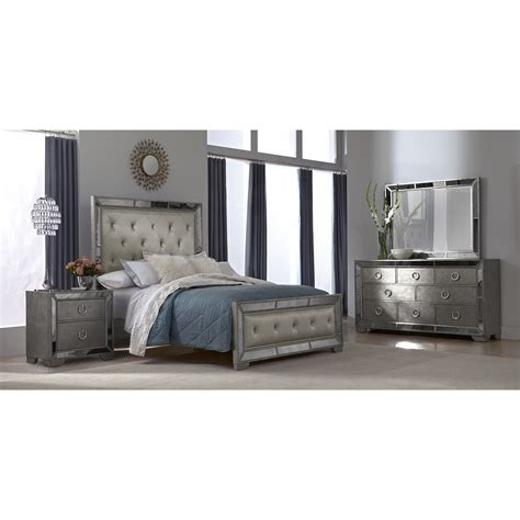 full bedroom sets with mattress marilyn 5 piece king bedroom set ebony value city