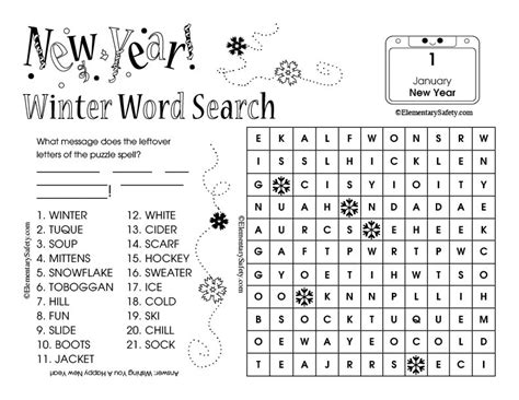 new year word search ks2 100 printable word search year 4 the 25 best