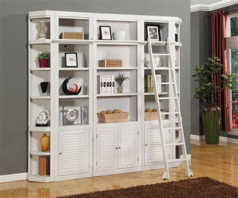 stylish and functional wall unit bookcase doherty house