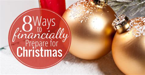 christmas for preparation 8 ways to financially prepare for creative savings