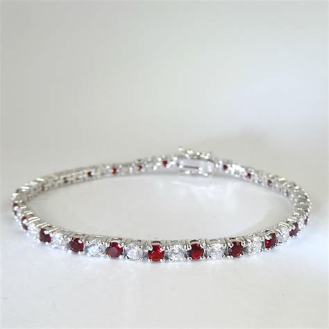 the and ruby tennis bracelet heavenly