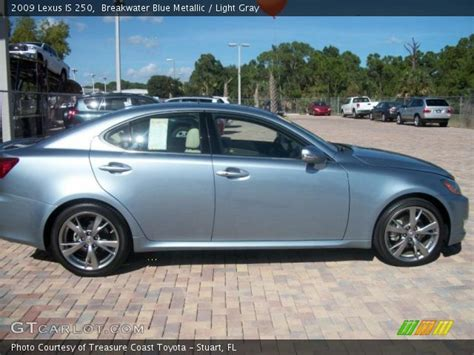lexus light blue breakwater blue metallic 2009 lexus is 250 light gray