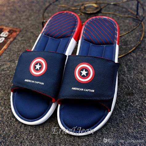 captain america slippers mens cool captain america slippers sandalias