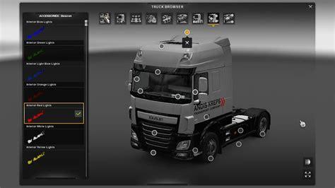 Interior Lights For Trucks by Colored Interior Lights For All Trucks V2 Ets2 Mods