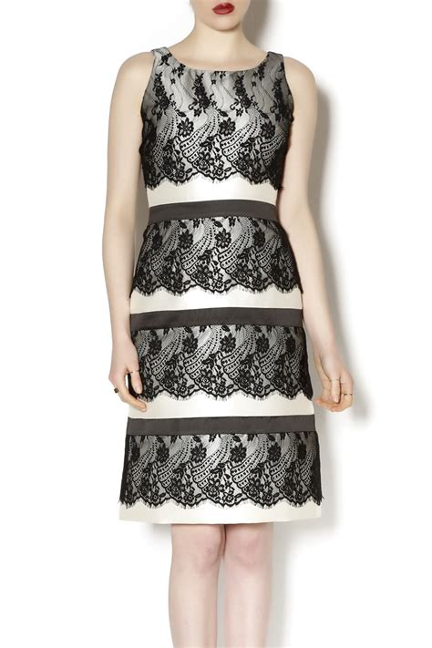 2 Die 4 Tiered Lace Dress by Miri Tiered Lace Dress From Island By Miri Shoptiques