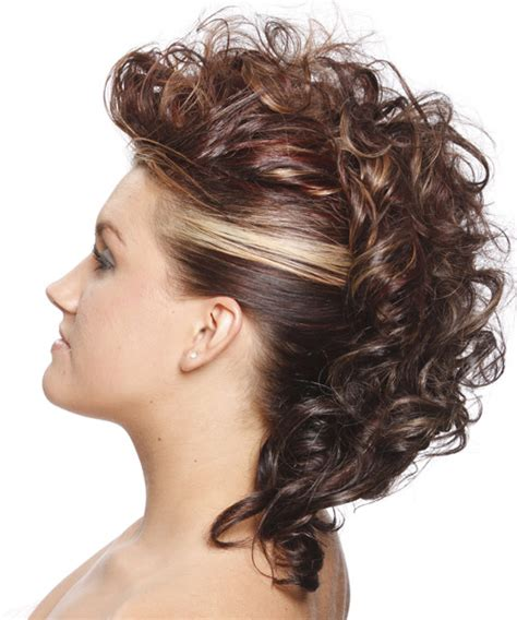 Curly Mohawk Hairstyles by Curly Mohawk Hairstyles Beautiful Hairstyles