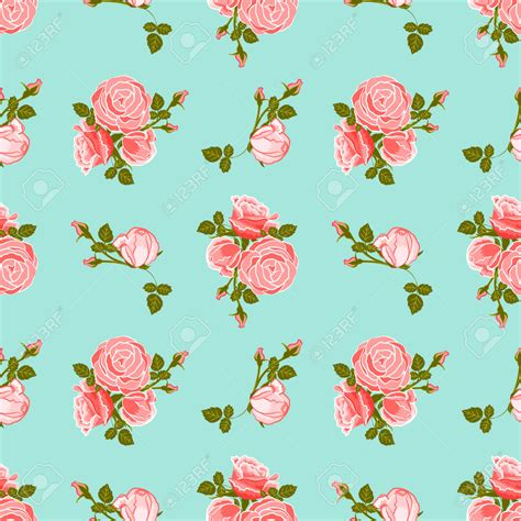 Vintage Flowers Pattern vintage flower clipart flower pattern pencil and in