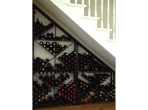 under stairs wine rack buy strong steel mesh wine racks designed for serious wine