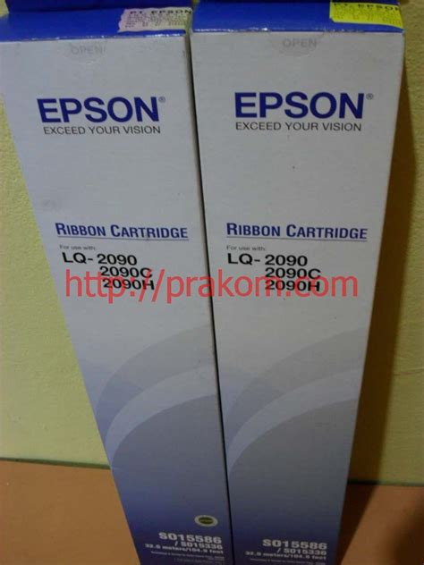 Pita Epson Lq 310so15639 Original Ribbon Pita Epson Lq2090