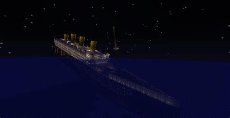 Titanic In Minecraft Sinking minecraft titanic by scattergunsniper on deviantart