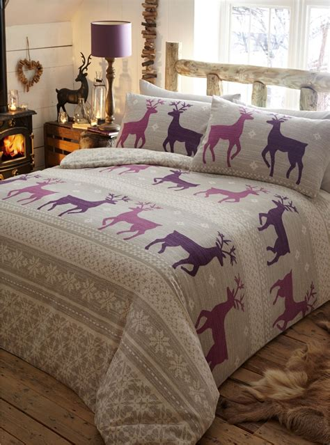 winter comforter sets 100 brushed cotton flannelette quilt duvet cover bedding