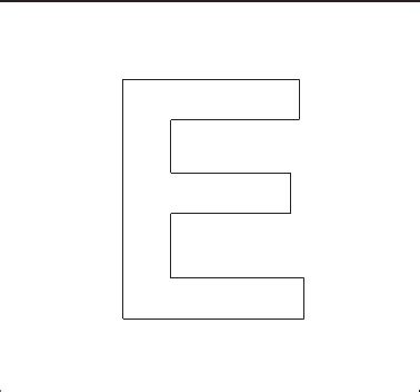 printable capital letter stencils alphabet stenncils page print your capital e stencil