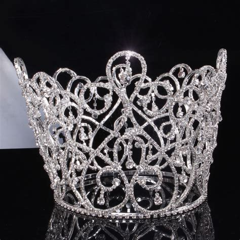 Kalung Mahkota Crown Necklace novelty bridal wedding crown and wedding hair accessories wedding prom pageant big