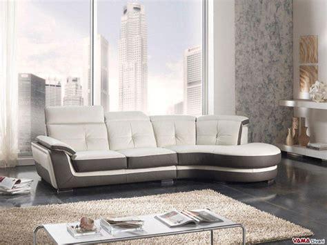 divani color tortora divano in pelle con angolo semitondo e poggiatesta reclinabili