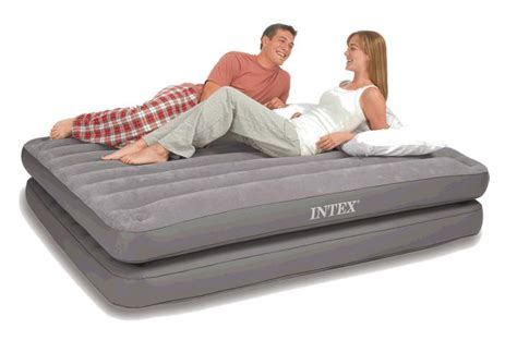 two airbeds in one size air bed 2 in 1 airbed mattress free express intex 67744 discount