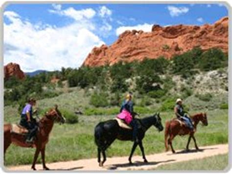Garden Of The Gods On Horseback 84 Best Images About Pikes Peak On Gardens
