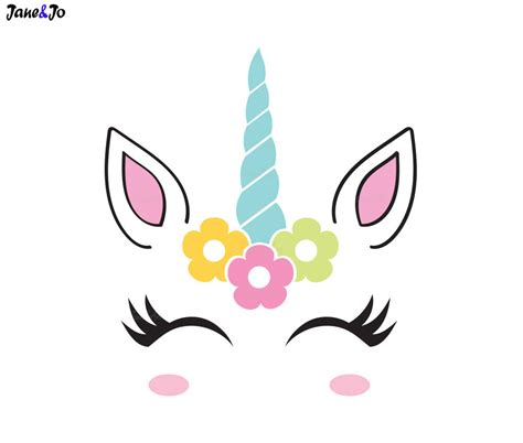 printable unicorn face unicorn face pictures to pin on pinterest thepinsta